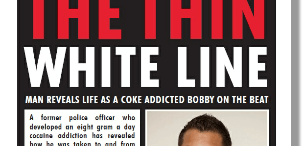 MyNewsMag – Cop's Confession The Thin White Line