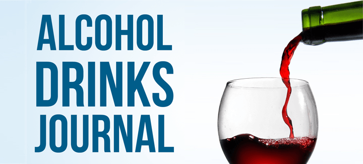 alcohol drinks journal banner