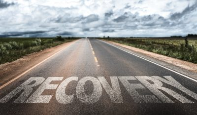 Recovery written on the road