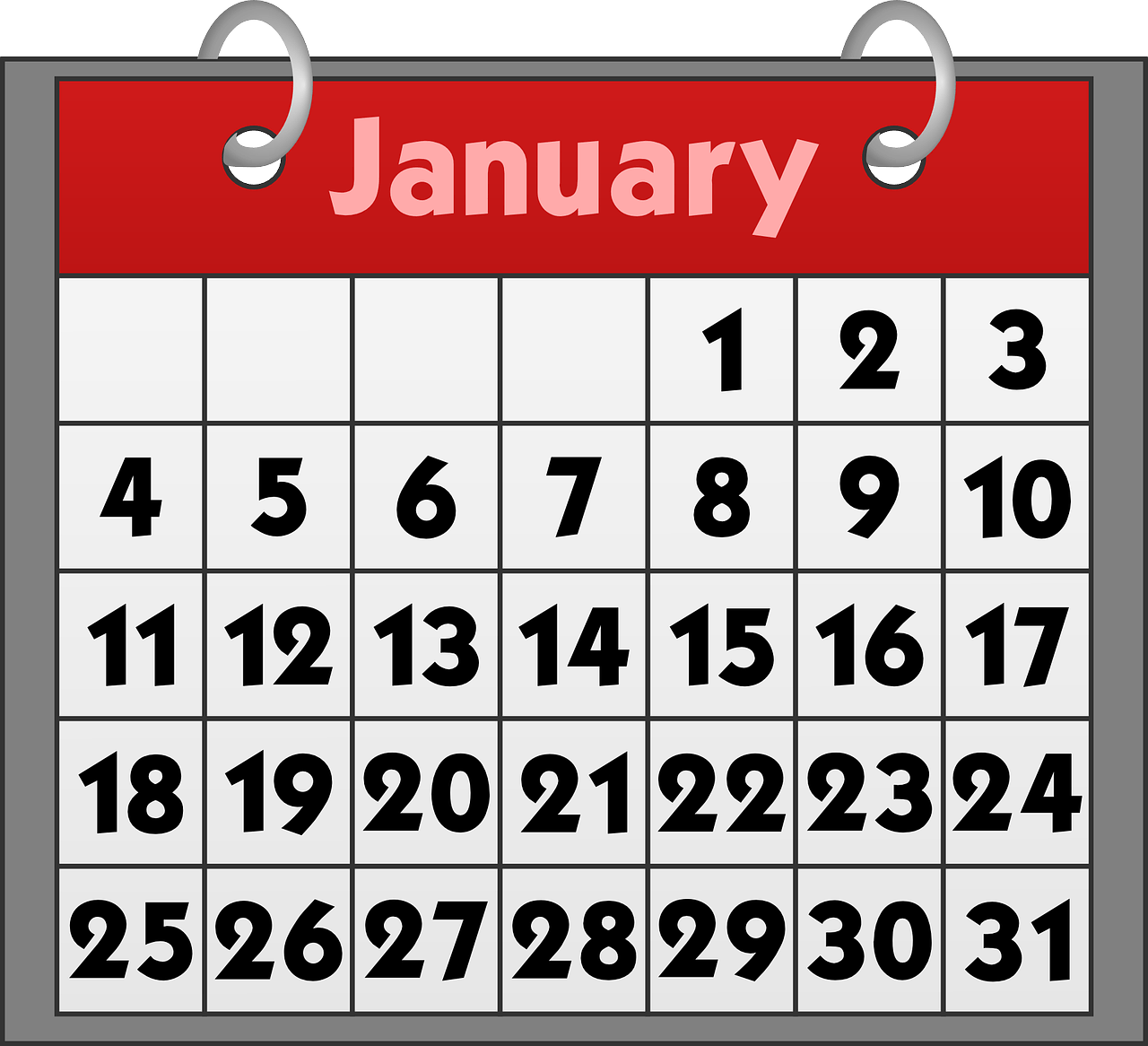 calendar-151591_1280 Struggling with Dry January in 2019?